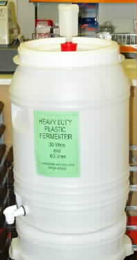 60 litre Plastic Fermenter with Tap - 0824