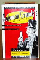 Solomon Grundy Table 30 Bottle