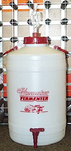 25 litre Plastic Fermenter with Tap - 0822